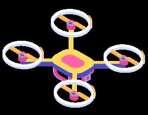 Ilustración Dron