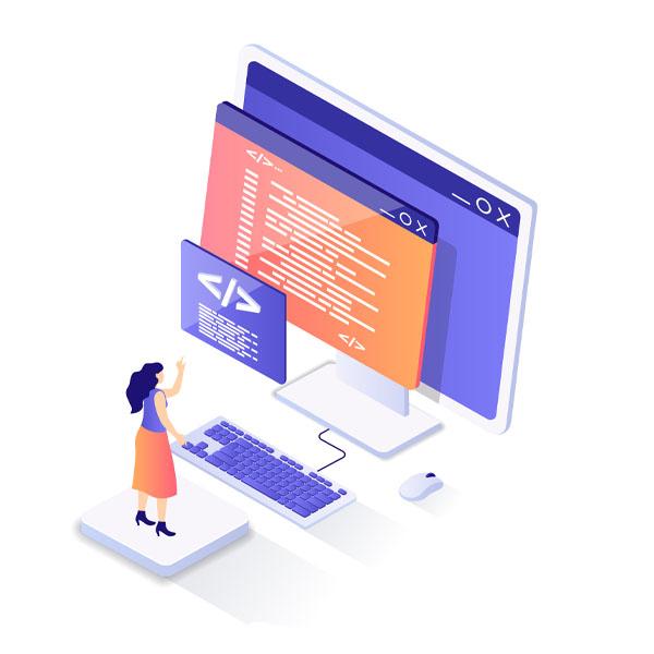 ilustración de transformación digital